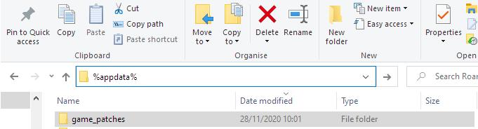 Application Data Directory Windows